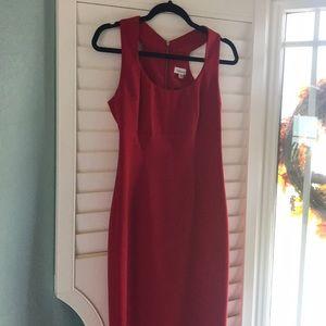 Calvin Klein red dress gorgeous size  small